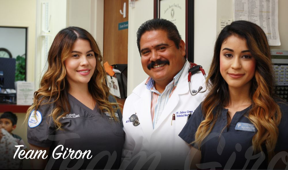 Team Giron Soledad Medical Clinic