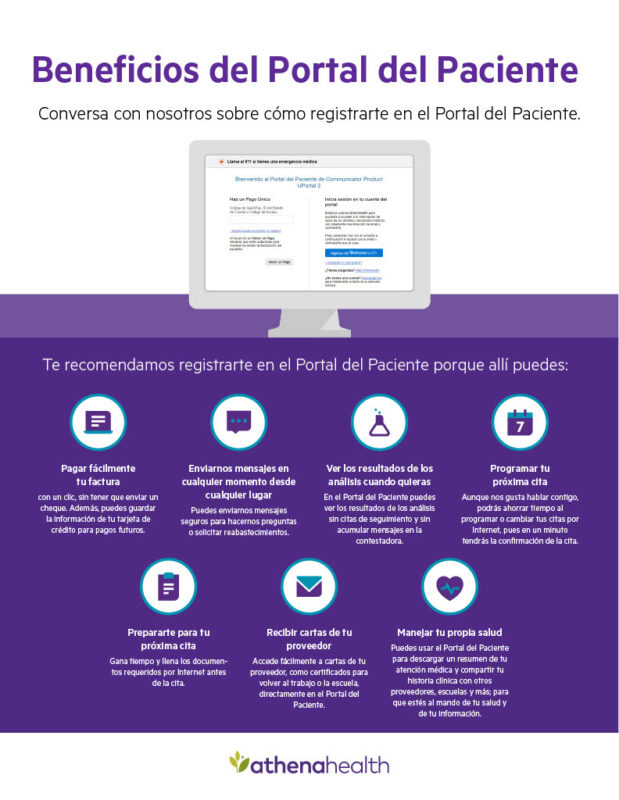 Benefits of the Patient Portal Spanish
